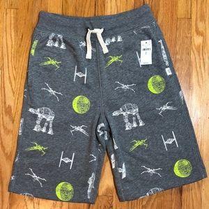 NWT Gap Star Wars Fleece Shorts Size M